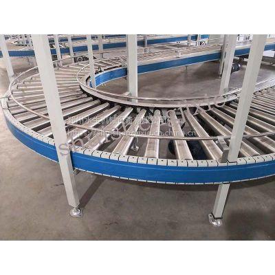 自动设备生产线生产动力滚筒线 郑州水生机械