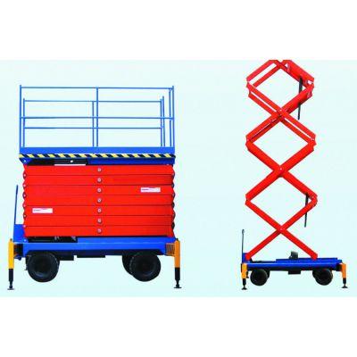 内蒙古包头市升降机 家用货梯小型 无线遥控操作 移动液压升降平台 亚重