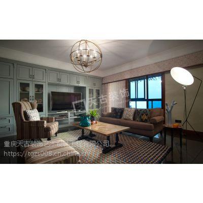 融景城装修案例|混搭风格|重庆天古装饰设计师陈鹏作品