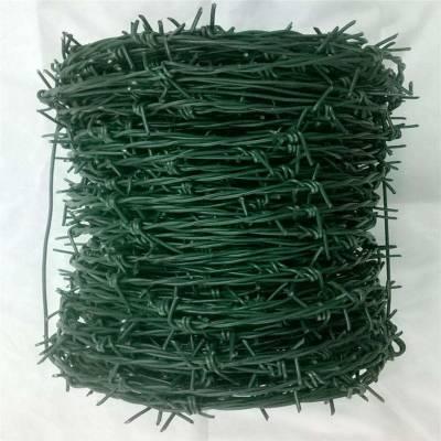 涂塑刺绳 铁丝刺绳 PVC刺铁线