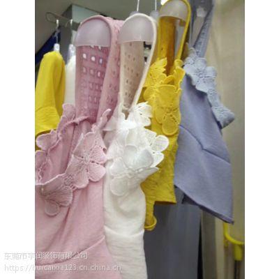 2018夏新款女装小个子清新韩版时尚圆领上衣衬衫雪纺衫一字肩短袖