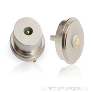 厂家定制圆形2pin磁吸连接器 磁铁连接器接头图片
