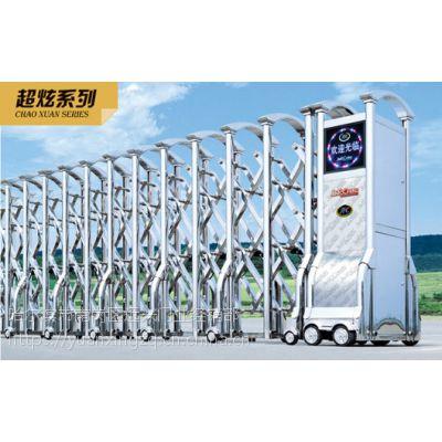 专业制造电动伸缩门,精美设计,质量过关,放心企业!厂家直销
