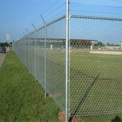 边坡防护勾花网 养殖矿用围栏网 菱形铁丝网