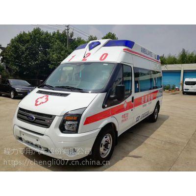 山东威海福特新世代福星五救护车生产厂家