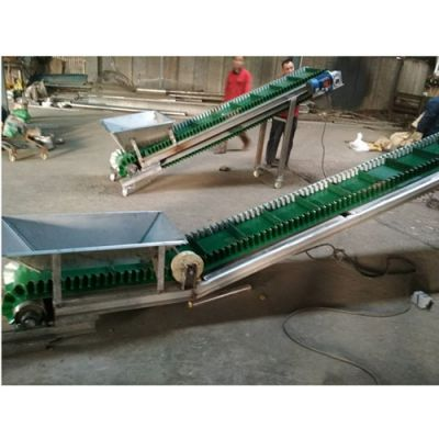 移动带式输送机带防尘罩 圆管支架装货用输送机