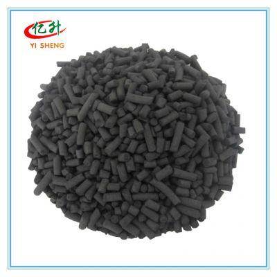 亿升柱状活性炭在水处理废气净化溶剂回收方面有很强优势