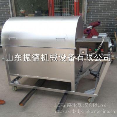 专业生产 花生瓜子炒货机 多功能滚筒翻炒机 电动炒货机 振德