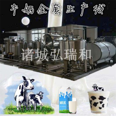 全套鲜奶生产线-发酵乳加工流水线