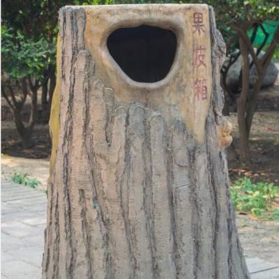 云南仿木桌椅,昭通驰升垃圾桶仿木凳子
