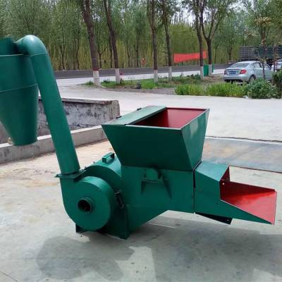 新款直销自动进料粉碎机农用秸秆打糠机养殖场专用粉草机
