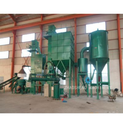 山东朝盛zs-300型 铸造业用覆膜砂再生设备铸造用砂擦磨整理机 物理法回收覆膜砂