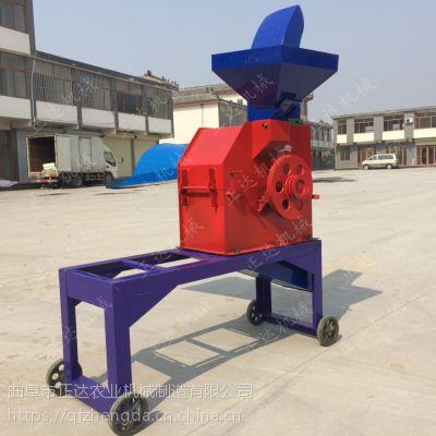 饲料厂秸秆加工粉碎机价格 多功能铡草粉碎机