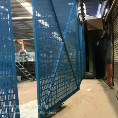施工爬架网现货供应 高层建筑防护爬架网 建筑爬架多孔板