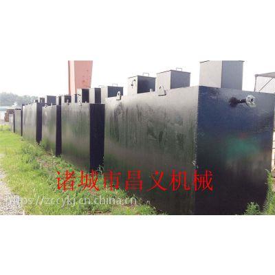 昌义机械地埋式生活污水处理设备