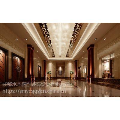 广元酒店装修设计,酒店室内空间装饰设计_水木源创