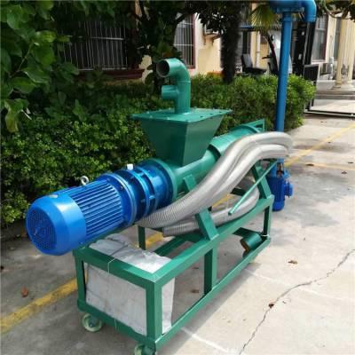 动物高压力脱水分离机 润丰 猪粪挤干机器 山西固液分离机