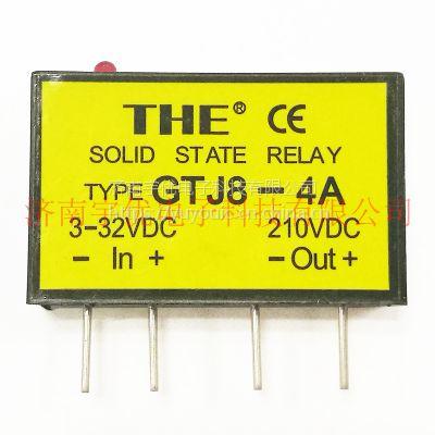 THE无锡天豪GTJ8-4A 单列直插式小型稳压直流固态继电器 原装正品 4A