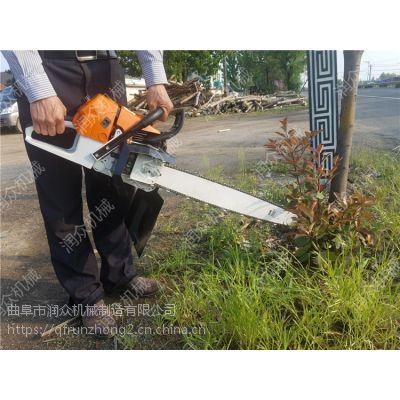 手提断根起树机 苗圃挖树苗机器