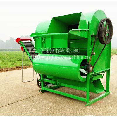自动装袋采摘机 打果子机器 柴油机带花生果子脱秧机