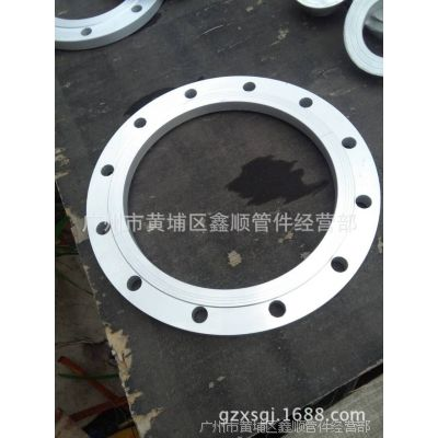 供应广东船用日标JIS B2224、2225铝合金搭焊钢法兰、盲板(法兰盖)