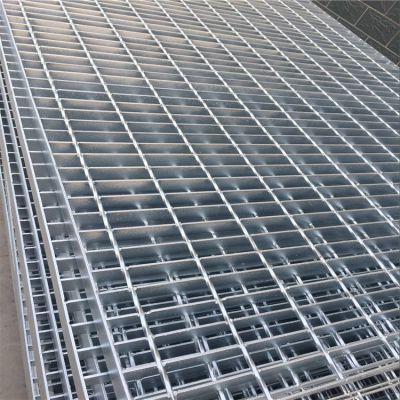 山东厂家直销热镀锌钢格板 抗压不锈钢平台踏步格栅板排水沟盖板定制
