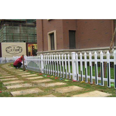 PVC塑钢草坪护栏庭院栅栏塑料花园围栏儿童防护栏户外绿化隔离栏