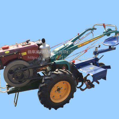单杠柴油田园管理机 多用途手扶旋耕机