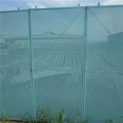 工地施工爬架网 冲孔板喷塑 爬架网厂家