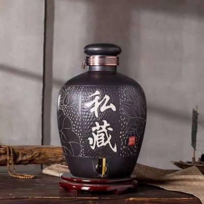 批发陶瓷酒坛 酒罐酒缸出售 景德镇密封储酒坛定制厂家