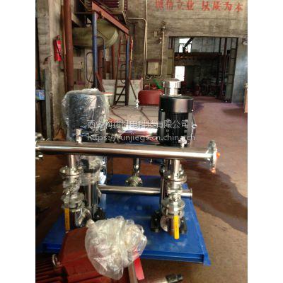 咸阳厂家供应无负压供水设备 咸阳自来水管网叠压恒压二次供水 RJ-2698