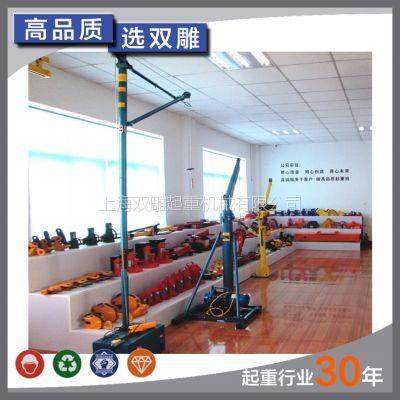 厂家直销 室内小吊机 家用室内小吊机 微型吊机 上海双雕起重