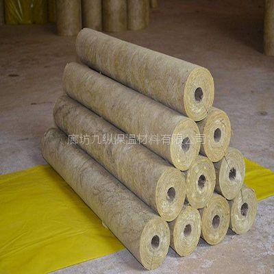 岩棉保温管壳应用领域 A级隔热材料 九纵
