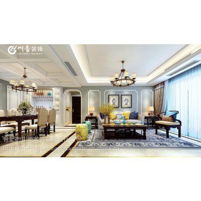 加侨悦山国际洋房145平简美风格装修效果图半包4.5万