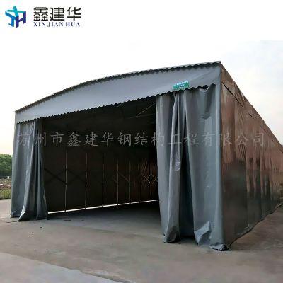 工厂推拉雨棚仓库文艺活动雨篷 布仓库钢结构雨棚算不算建筑面积