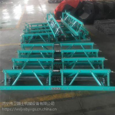 销售3-16米振动梁摊铺机 框架式可拆装修路整平机