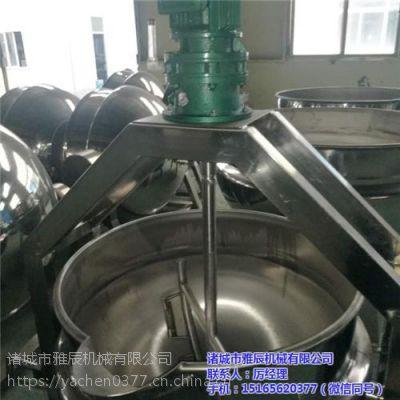 煮饭夹层锅、诸城雅辰机械(图)、煮饭夹层锅多少钱