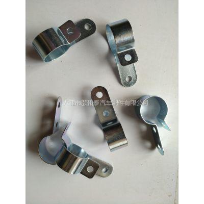 源头厂家专业生产碳钢镀锌空调气管夹