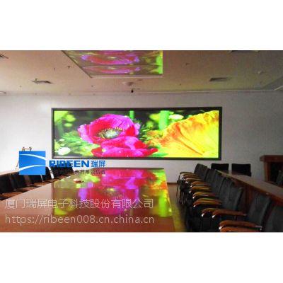 天津无缝全彩室内显示大屏激光无缝智能显示屏瑞屏电子品牌