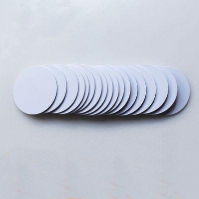 NFC钱币卡 NTAG 213圆卡定制,圆形nfc卡制作 IC圆形卡工厂