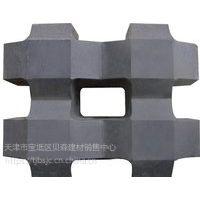 北京爱尔草坪砖优质井字植草砖普通混凝土实心砌块