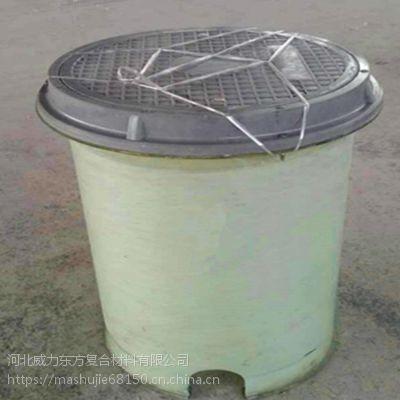 直径500*600复合材料检查井可与工程同步施工省时