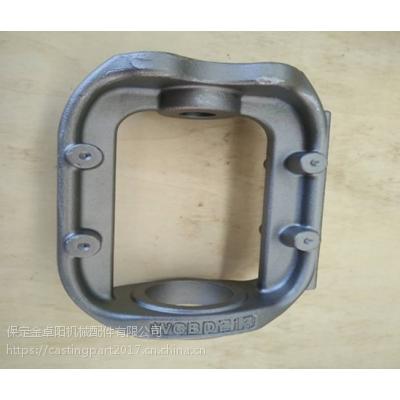 20多年铸造经验供应定制覆膜砂钢铸造件