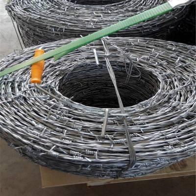 刺绳表价格 刀片刺绳网 刺丝隔离网