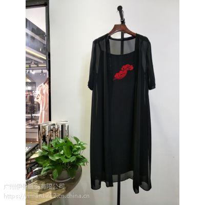 广州伊曼服饰供应一二线女装库存批发 杭州水墨佳人品牌折扣