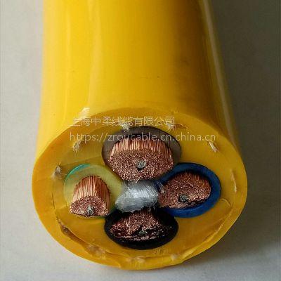 上海中柔线缆厂家直销垃圾吊专用耐弯曲聚氨酯护套液压抓斗电缆