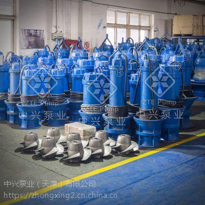潜水轴流泵工矿船坞排水用