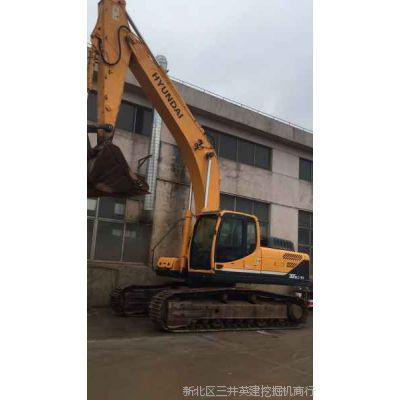江苏常州二手挖掘机交易买卖市场