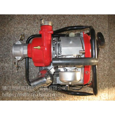 镇江润林高扬程消防扑火水泵 三级离心泵 高压接力水泵 消防扑火水泵