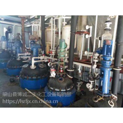3吨扬阳搪瓷反应釜 博诚二手化工设备现货低价供应
